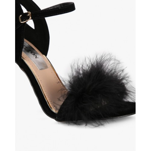 Carlton London Stiletto Sandals with Ankle Strap