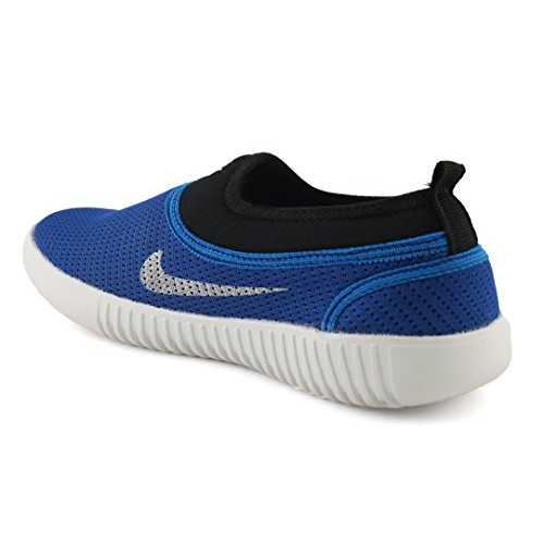 AORFEO Blue Unisex Casual Shoes Sneakers For Men and Women No Lace Casuals CASUAL35