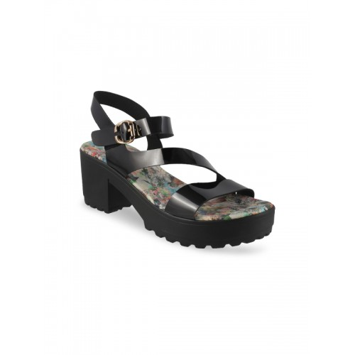 ca49d4be411 Mochi Women Black Solid Platforms  Mochi Women Black Solid Platforms ...