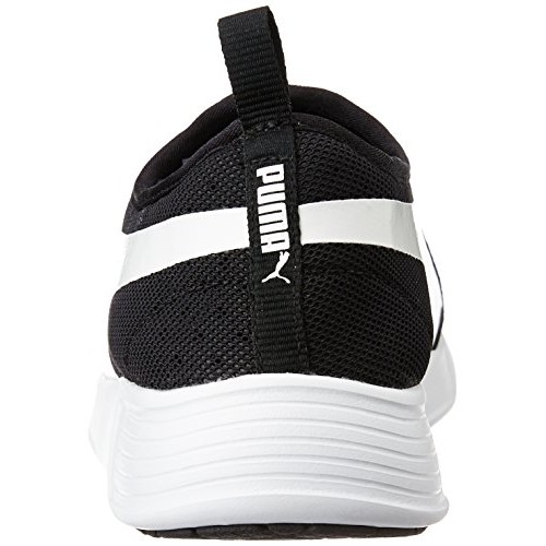 Puma Unisex St Trainer Evo Slip-On Black and White Sneakers