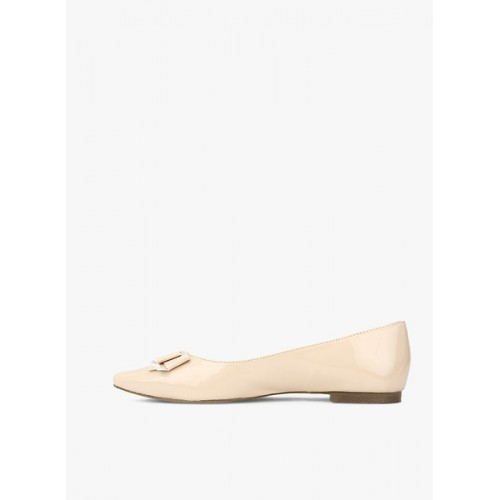 Carlton London Beige Belly Shoes