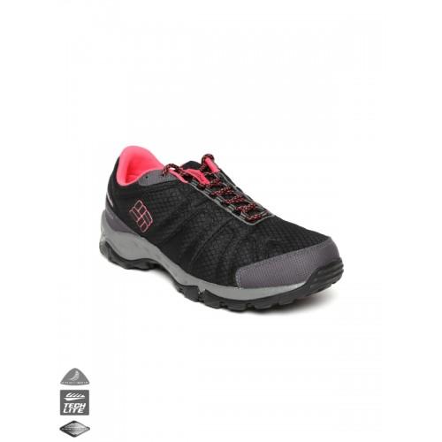 3dbb8fd78dcc ... Columbia Women Black Firecamp Waterproof Outdoor Sports Shoes ...