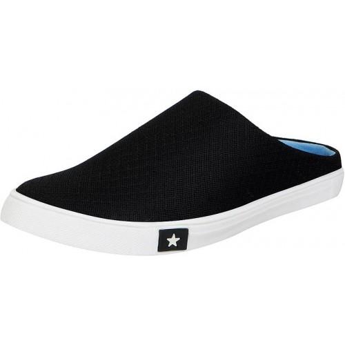 Fausto Women's Black Smart Casuals Shoes