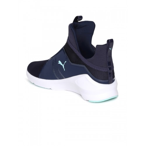 best service 7ecb8 46864 Buy Puma Women Navy Blue Fierce Core Training Shoes online ...