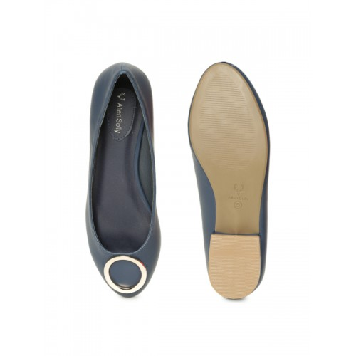 Allen Solly Navy Blue Belly Shoes
