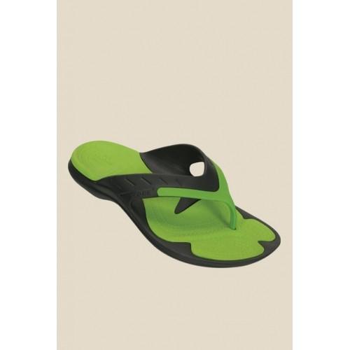 e78f4c9dc Buy Crocs Modi Sport Graphite   Volt Green Flip Flops online ...