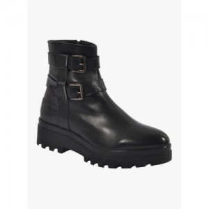 Salt N Pepper Black Boots