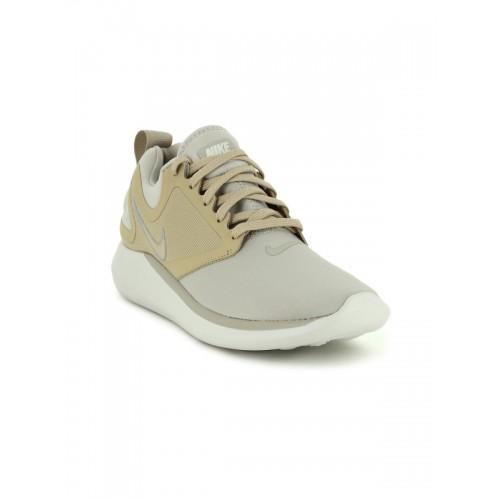 d18c0ab2006 Buy Nike Women Grey   Beige LUNARSOLO Running Shoes online