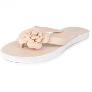 6996a7abaf87 Do Bhai Flower-Slipper-F Fashionable Stylish   Smart Casual Flipflops for  Women