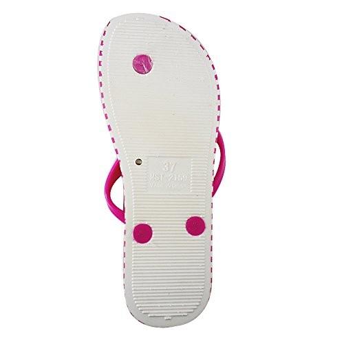 Zomaark Trending Ladies Flip-Flops and House Slippers Pink