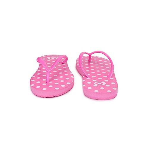 Birde Pink Rubber Women Slipper
