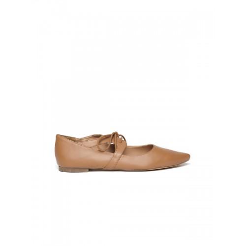 Carlton London Women Brown Solid Flat Shoes