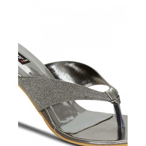 Get Glamr Grey Sandals