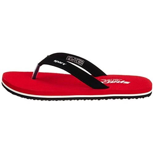 Sparx Women's Red Velvet Basic Flip-Flops and House Slippers - 6 UK (SFL-19)
