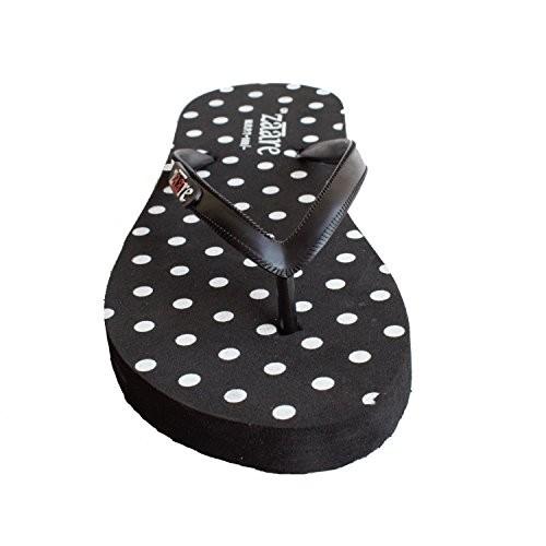 Zaare Women Trendy Flip-Flops & Fashion Slipper - Polka