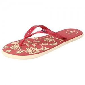 717bee9ee9c Shoe Lab Burgundy   Black Flip Flops. ₹319 ₹399 Flipkart. 20% off. Spunk  Women s Red PVC Flip-Flops ...