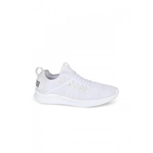 uk availability 29fbb 50339 Buy Puma Women White IGNITE Flash evoKNIT EP Wn s Sneakers ...