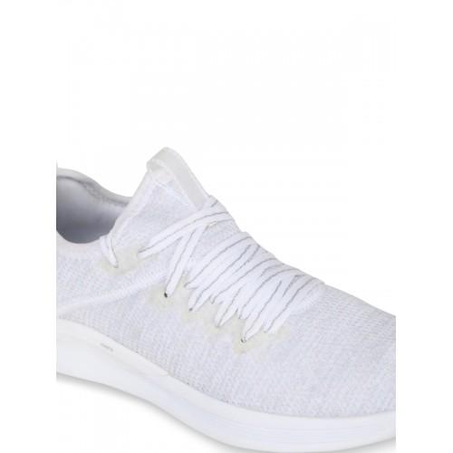 uk availability 62d94 39e5b Buy Puma Women White IGNITE Flash evoKNIT EP Wn s Sneakers ...