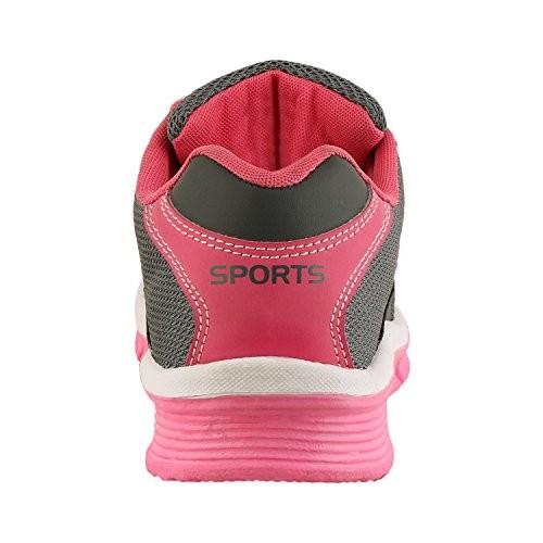 Maddy Women Grey Designer Sport Shoes