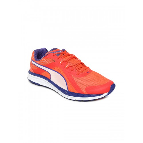 02ce75d4019 Buy Puma Women Orange Speed 500 IGNITE Running Shoes online ...