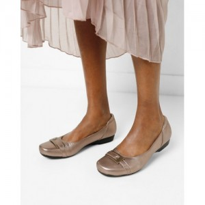 CLARKS Ballerinas with Buckle Accent