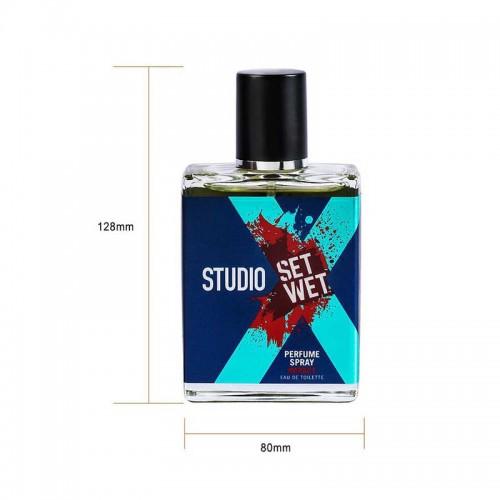 Set Wet Studio X Perfume Spray For Men - Impact 49 ml