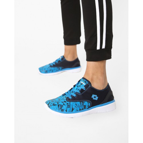 LOTTO Printed Sports Shoes with Lace-Up Fastening