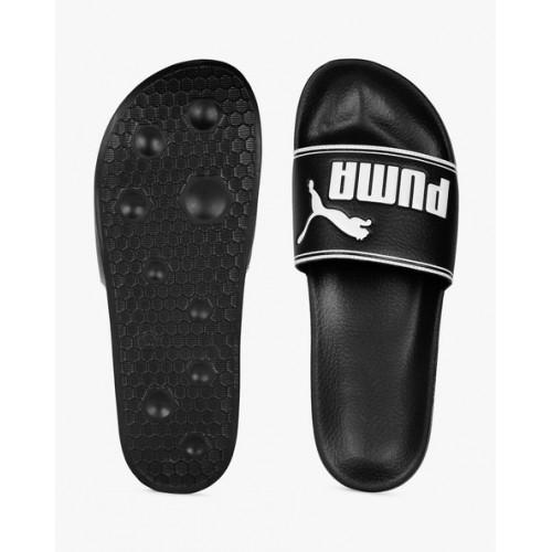 Puma Leadcat Black Flip Flops
