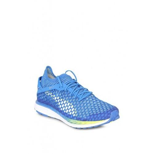 0c7672833b398b Buy Puma Speed Ignite Netfit 2 Nebulas Blue Running Shoes online ...