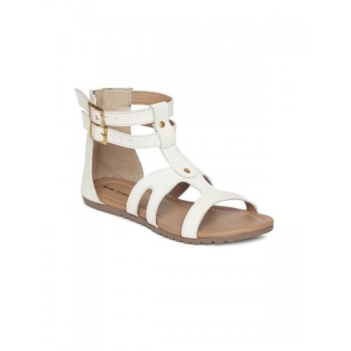 35fe5936e29 Buy Marc Loire Women White Solid Gladiators online