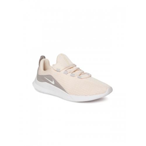 88f9b5ef9afc Buy Nike Flex Experience RN 6 White   Light Grey Running Shoes ...
