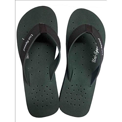 8f55803cc35 ... Unispeed Women s Diabetic Care + Super Soft Flip-Flops (Green Orthopedic  Slippers) ...