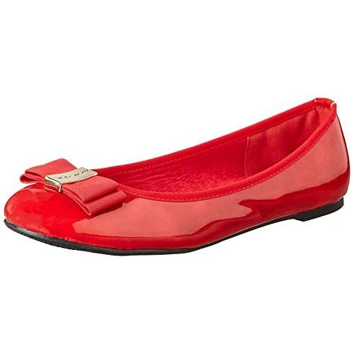 Marie Claire Women's Gemini Red Ballet Flats - 3 UK/India (36 EU)(5515407)