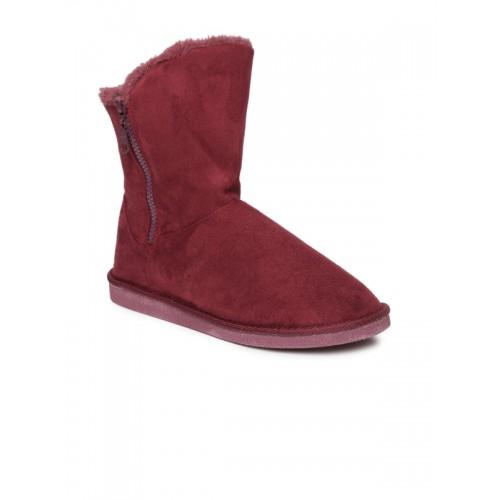 Carlton London Women Burgundy Boots
