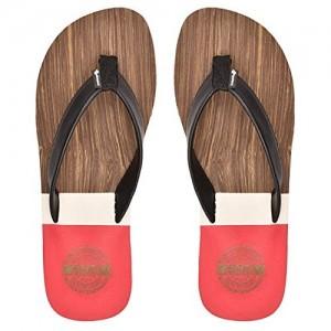 c0fafcaf6aa Buy Levitate US Accu Reef Red   White Printed Flip Flops online ...