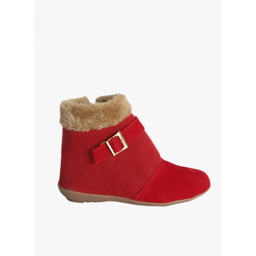 Zachho Red Boots