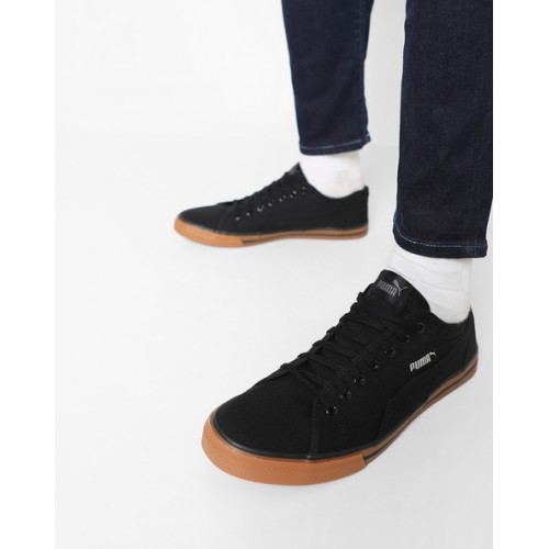 e7ebeb1d3348 Buy Puma Yale Gum Solid Co Idp Black Sneakers online