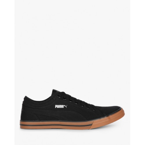 Buy Puma Yale Gum Solid Co Idp Black Sneakers online  7670a1495