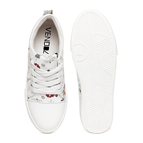 Clymb Perfect Women's Stylish White Casual Shoes