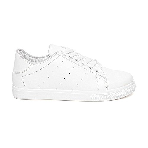 Clymb Women's Stylish White Casual Shoes