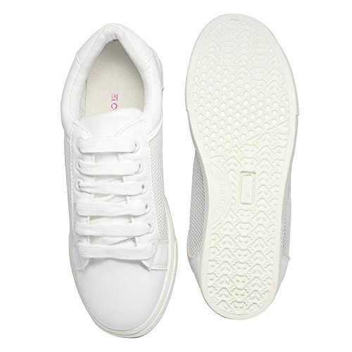 Prime Buy Couch Potato White Mesh Women Sneakers Online Looksgud In Gamerscity Chair Design For Home Gamerscityorg