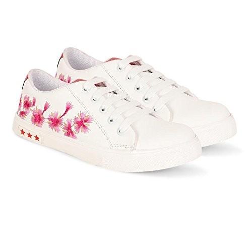 Filippo FS-L.98 White Casual Shoes for Women