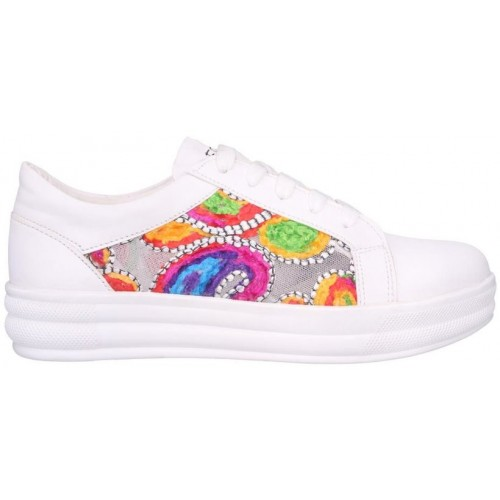 Clymb LS-15 White Sneakers For Women In Various Sizes