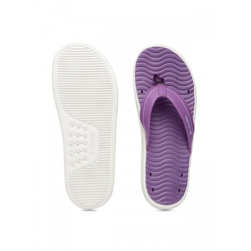 Columbia Women Purple Vent Cush Flip-Flops