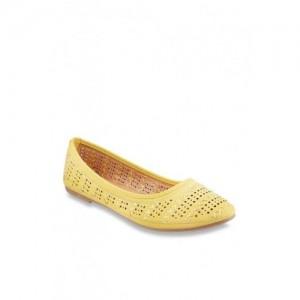 Mochi Yellow Flat Ballets