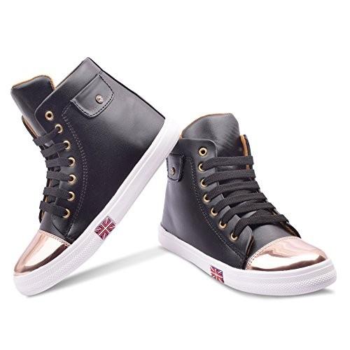 KRAFTER Black Trendy Boots