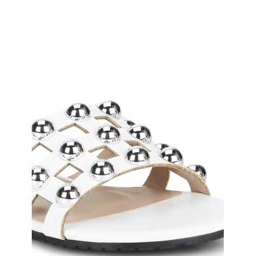 Truffle Collection White Sandals