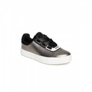 0f995fc0dcb Buy Steve Madden Bertie M White Metallic Casual Sneakers online ...