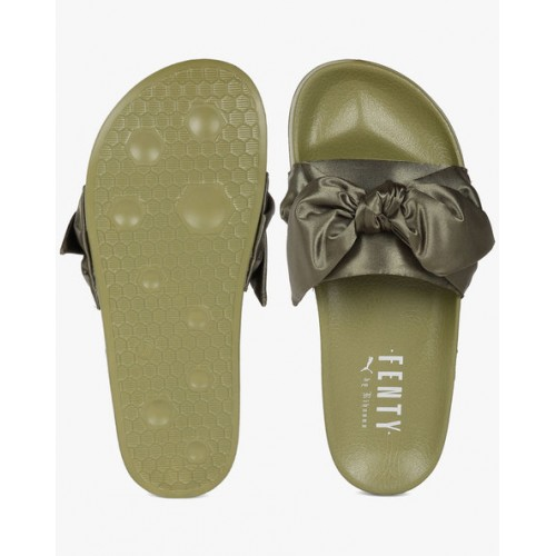 d1a90517c09b Buy Puma Slides with Fabric Bow online