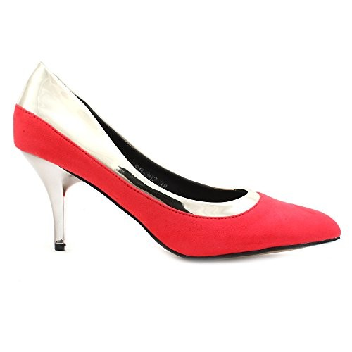 Shuberry Latest Collection, Comfortable & Fashionable Blue Synthetic Pumps for Women's & Girl's (SB-302)